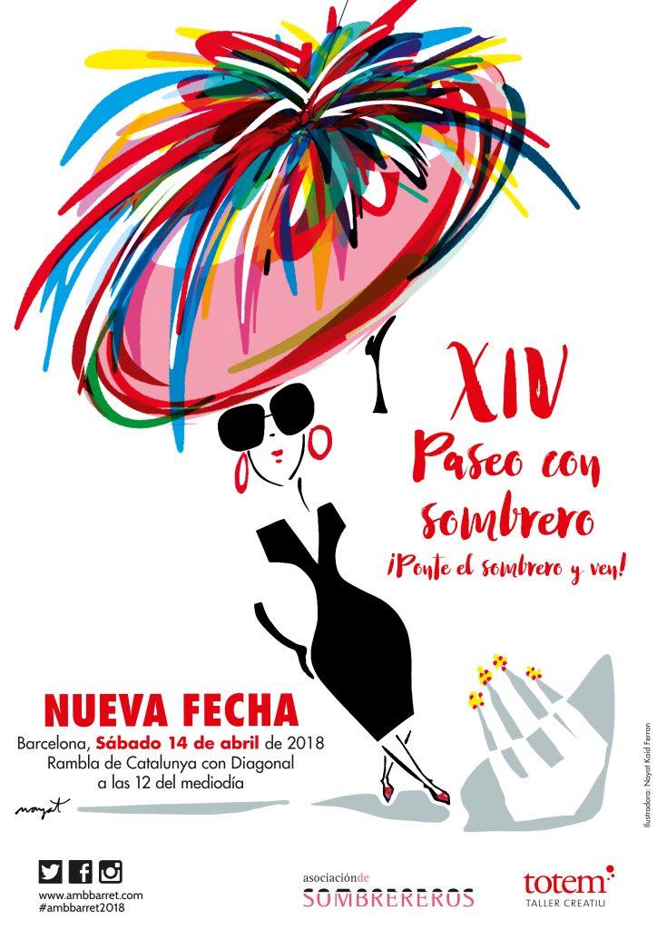 Cartel 14º Paseo con Sombrero